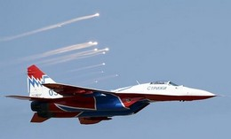 Photo of Russian Aircraft 'Entered Ukraine Airspace'