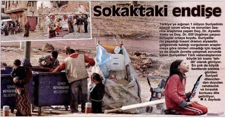 syrians in turkey
