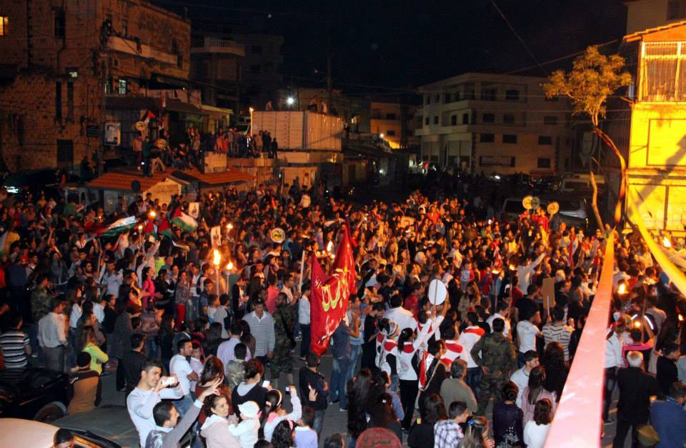 Photo of Syria- A Huge March and Night Vigil in Tartous in Support of National Principles
