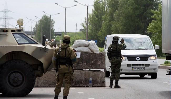 14 Ukraine troops killed in protestors attack: president