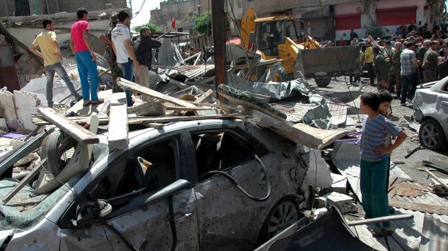 Photo of Several killed in Damascus car bomb blast