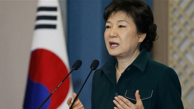 Photo of South Korean president apologizes over ferry tragedy