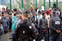About 650 migrants has been expelled from Calais camps by French police