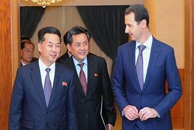 Assad_Korean_delegation