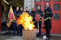 British firefighters to go on strike over pension