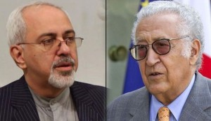 Iran's Zarif discusses Syria unrest with Brahimi