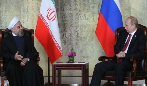 Iranian, Russian Presidents Meet in China