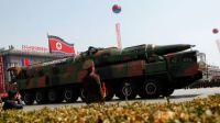 N Korea fires shells near South warship