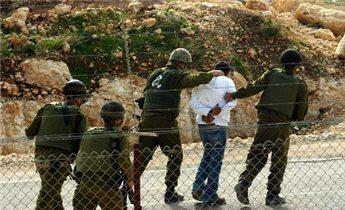Photo of zionist regime Detains 13 Palestinians in West Bank