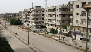 Syrian militants surrender strongholds in Homs