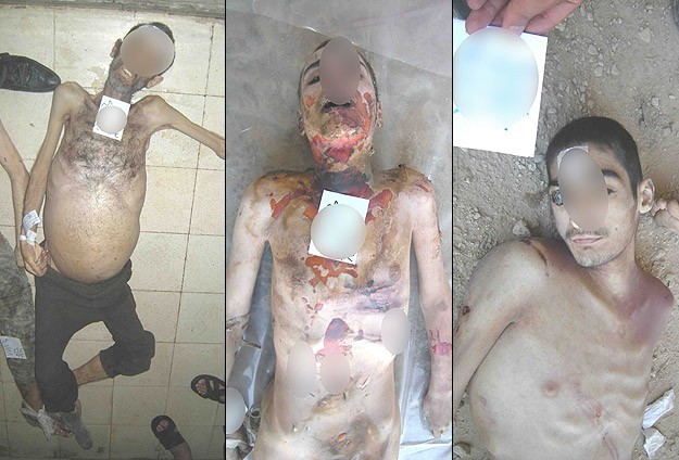 "Photo of IIT once more refuted the so-called ""Syrian Govern. systematic torture"" allegations presented to UNSC by AA"