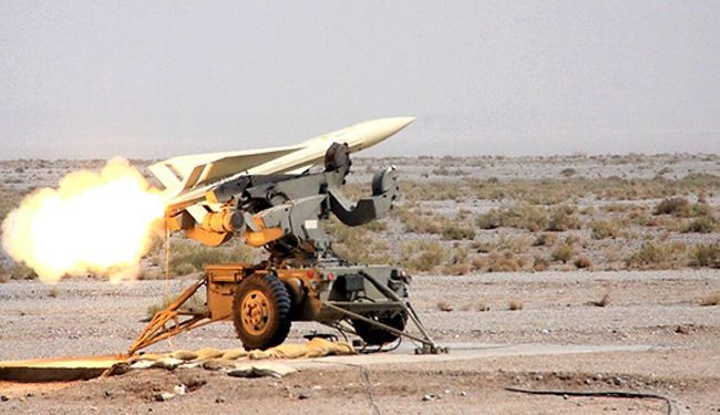 Iran test-fires Mersad missile defense system