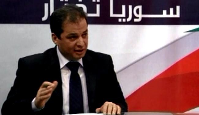 Photo of Syrian candidate: US-Israeli intervention threw Syrians' wish to chasm