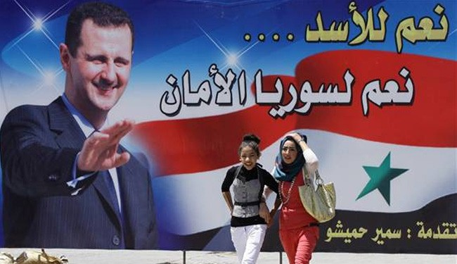 Modernist Assad says saved Syria from bloody insurgency