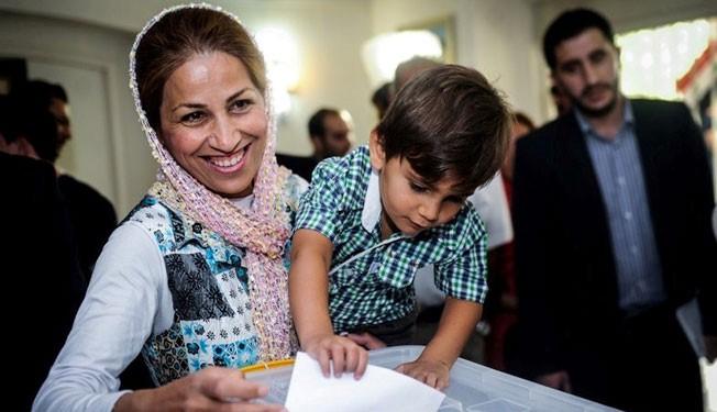 Syria expatriates vote in presidential election