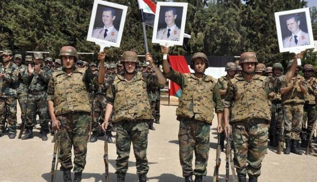 Syria army eliminates more militants in several areas