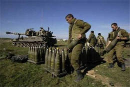 Photo of zionist Army Maneuvers, Simulating War against Lebanon, Syria
