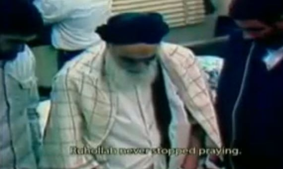 Photo of Video of the last moments of Rohollah Imam Khomeini r.a