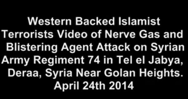 Photo of Video- Very Strong Evidences Show the Terrorists in Syria used Chemical Weapon and killed Syrian Soldiers