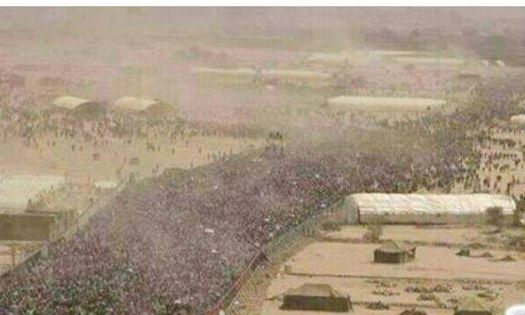 Photo of Turkish, Western, Arab Media will not give this news- 3 million Sunni- Shia Iraqis gathering in Taje Camp to fight against terrorism