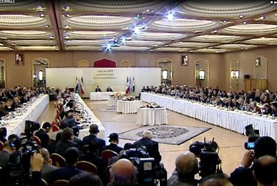 Photo of Parliamentary delegates of 'Friends of Syria' countries meet in Tehran
