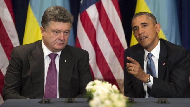 Photo of Obama meets Ukraine's Petro Poroshenko