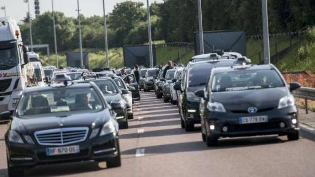 Photo of European cities hit by taxi, rail strikes