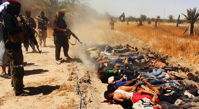 Photo of ISIL using social media to spread propaganda