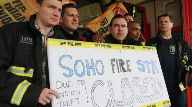 Photo of UK firefighters to strike over pension row