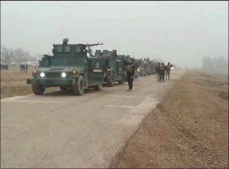 40 ISIL killed, 5 vehicles destroyed in Tikrit