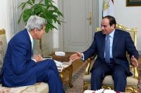 Photo of Zionist Kerry Voices Strong Support for Egyptian President Sisi