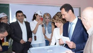 Assad-wife