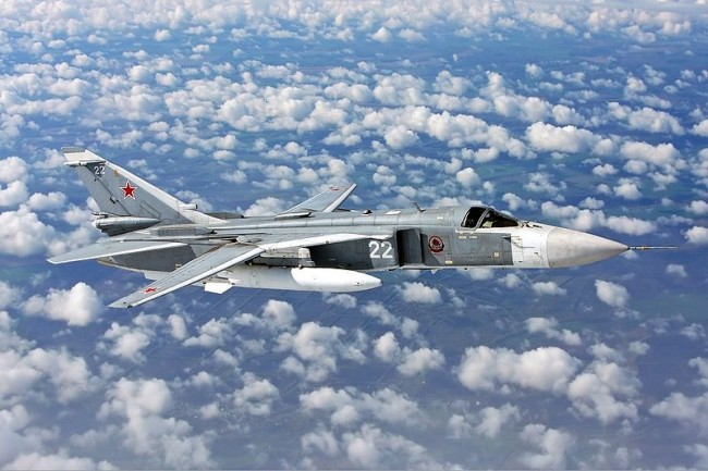 Defense Ministry confirms arrival of Sukhoi Su-24 fighter jets in Iraq