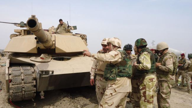 Iraq troops in almost full control of Diyala