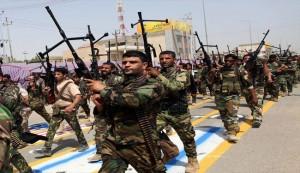 Peace Brigades stage parades across Iraq