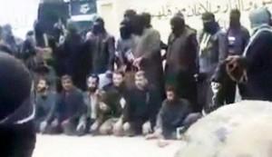Video: Al-Qaeda-linked ISIL executes rival rebel commander, 6 militants