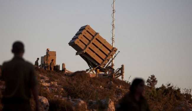 Israeli Iron Dome unable to intercept mortars from Syria