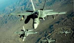 US flying F-18 surveillance missions over Iraq: officials