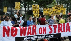 No new US-led war on Iraq: US anti-war activists