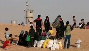 Kurdish forces violently block refugee-seekers from entering Kirkuk