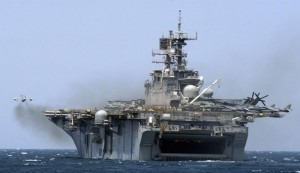 US sends eighth major warship to Persian Gulf