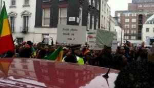 UK protestors slam Saudi support of terrorists