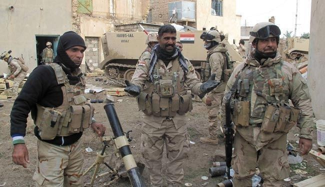 Photo of Iraqi army advance in Tikrit continues