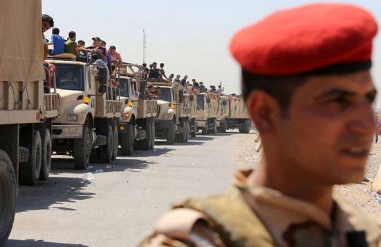 Photo of Video of Iraqi volunteer convoys heading to Mosul