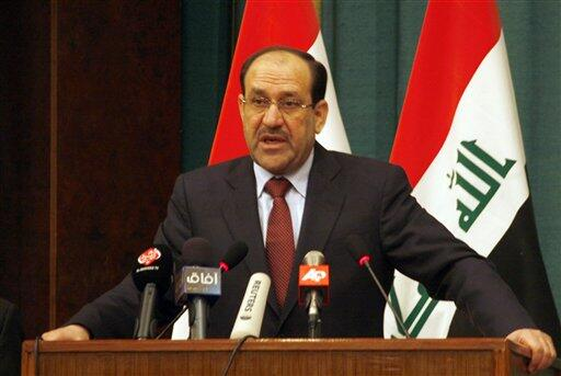 """Photo of Maliki Vows to Regain Control over Nineveh, Says Seizure of Mosul """"Conspiracy"""""""
