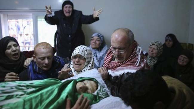 Photo of Funeral held for teenager killed by Israeli settlers