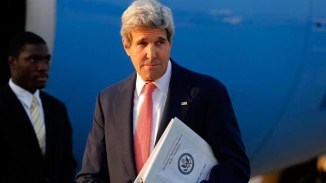 Photo of Kerry: Iranians are strong in their position
