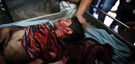 Photo of Gaza Mother Dies Shielding Her Children
