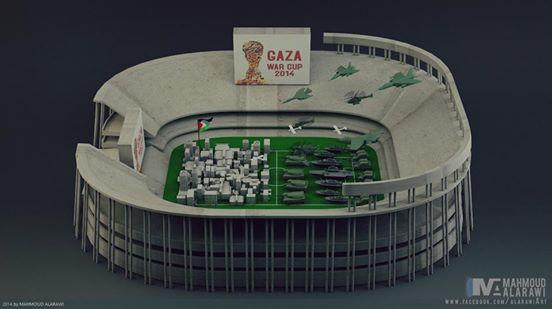 Gaza War Cup .... Keep watching