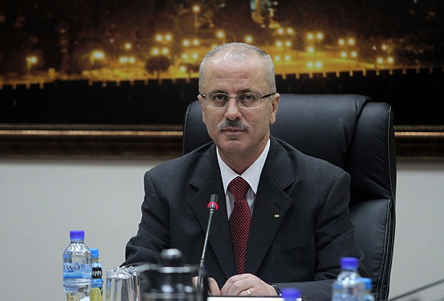Photo of Palestine's Puppet Minister Rami Hamdallah never mentions Resisitanc in his words..